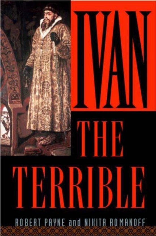 Boek cover Ivan the Terrible van Robert Payne (Paperback)