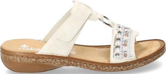 Rieker dames sandaal Wit Maat 37