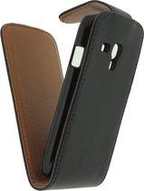 Xccess Leather Flip Case Sams S3 mini Bk
