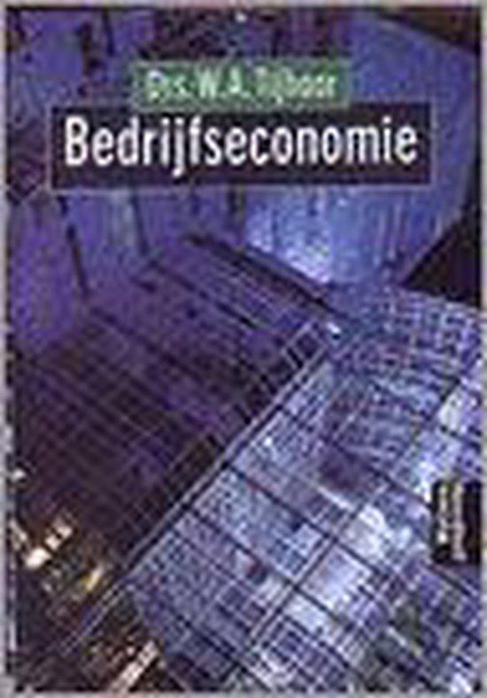 BEDRIJFSECONOMIE DR 13 - W.A. Tijhaar |