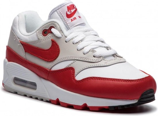 nike air max 90 wit rood