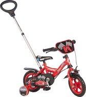 Yipeeh Power - Kinderfiets - 10 inch - Jongens - Rood/Zwart