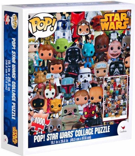 Funko Pop Star Wars puzzel collage 1000 stukjes