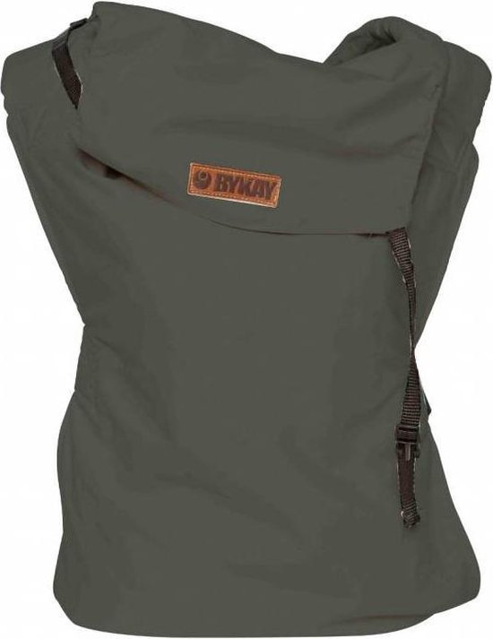 ByKay - Babydrager - Click Carrier Classic - Steel Grey -size toddler