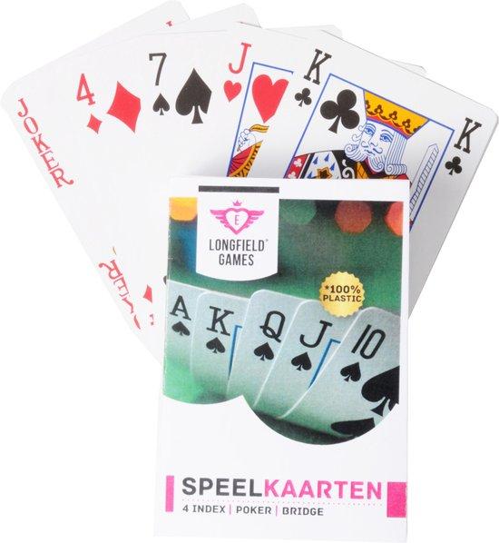 Longfield Games Speelkaarten - Geplastificeerd