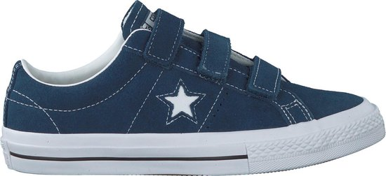 Converse Jongens Lage sneakers One Star 3v Ox Blauw Maat 38+