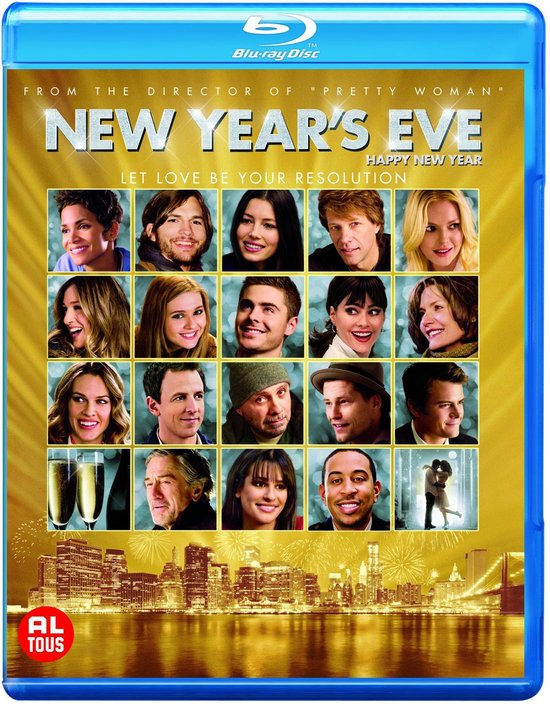 Cover van de film 'New Year's Eve'