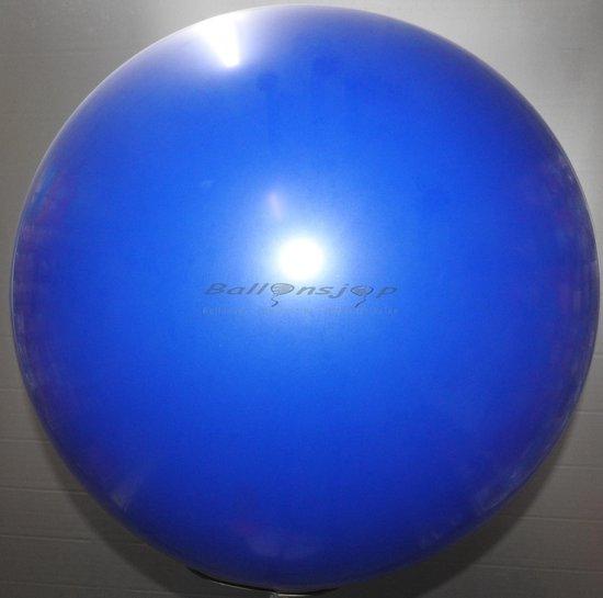 reuze ballon 60 cm  24 inch donker blauw