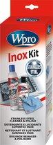 "Wpro INX113 Set ""Inox Clean"" - crème (250 ml) - 3M microvezeldoek - polisher (400 ml)"