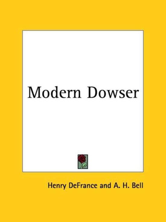 Modern Dowser (1930)