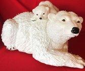 Lichtgevende ijsbeer