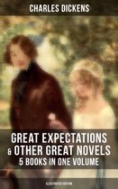 Great Expectations & Other Great Dickens' Novels - 5 Books in One Volume (Illustrated Edition)