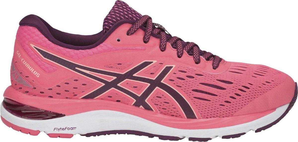 Asics Gel Cumulus 20 Hardloopschoenen Dames Sportschoenen Maat 40 Vrouwen roze