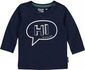 Quapi Newborn Jongens Shirtje Zagros -Donkerblauw - Maat 50