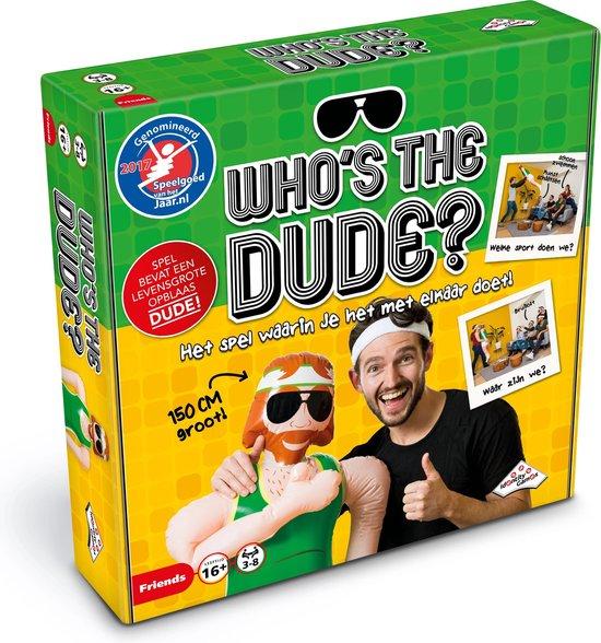 Afbeelding van Whos the Dude? - Partyspel speelgoed