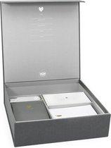 Baby Memory Box - Grey Linnen