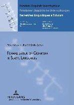 Formalization of Grammar in Slavic Languages