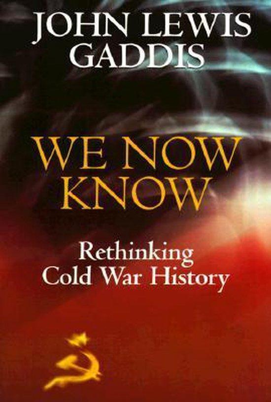Boek cover We Now Know van John Lewis Gaddis (Paperback)