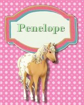 Handwriting and Illustration Story Paper 120 Pages Penelope