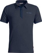 Vaude Me Roslin Polo Shirt Outdoorshirt Heren - Eclipse - Maat X