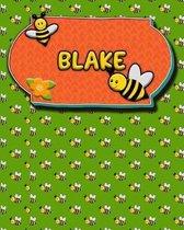 Handwriting Practice 120 Page Honey Bee Book Blake