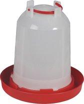 Beeztees plastic drinktoren wit 6 liter