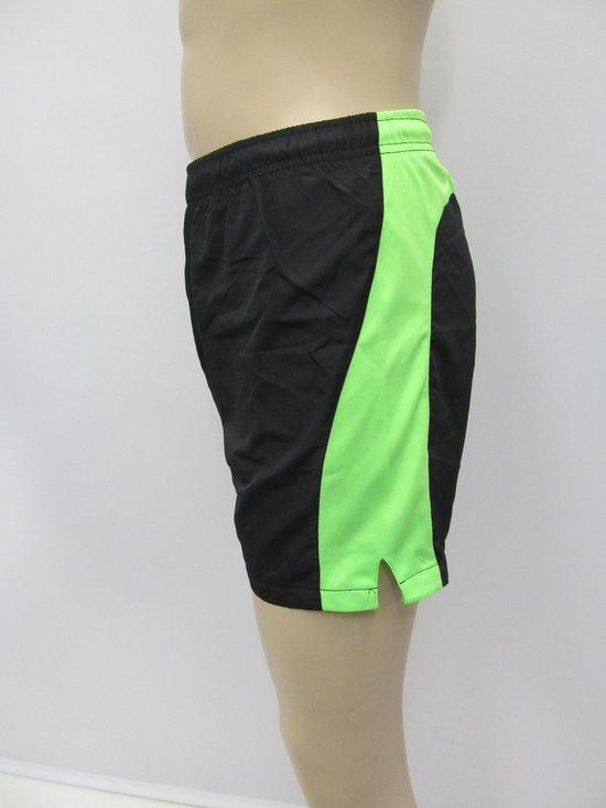 Craft Prime - Hardloopbroek - Mannen - Maat S - Zwart/ groen