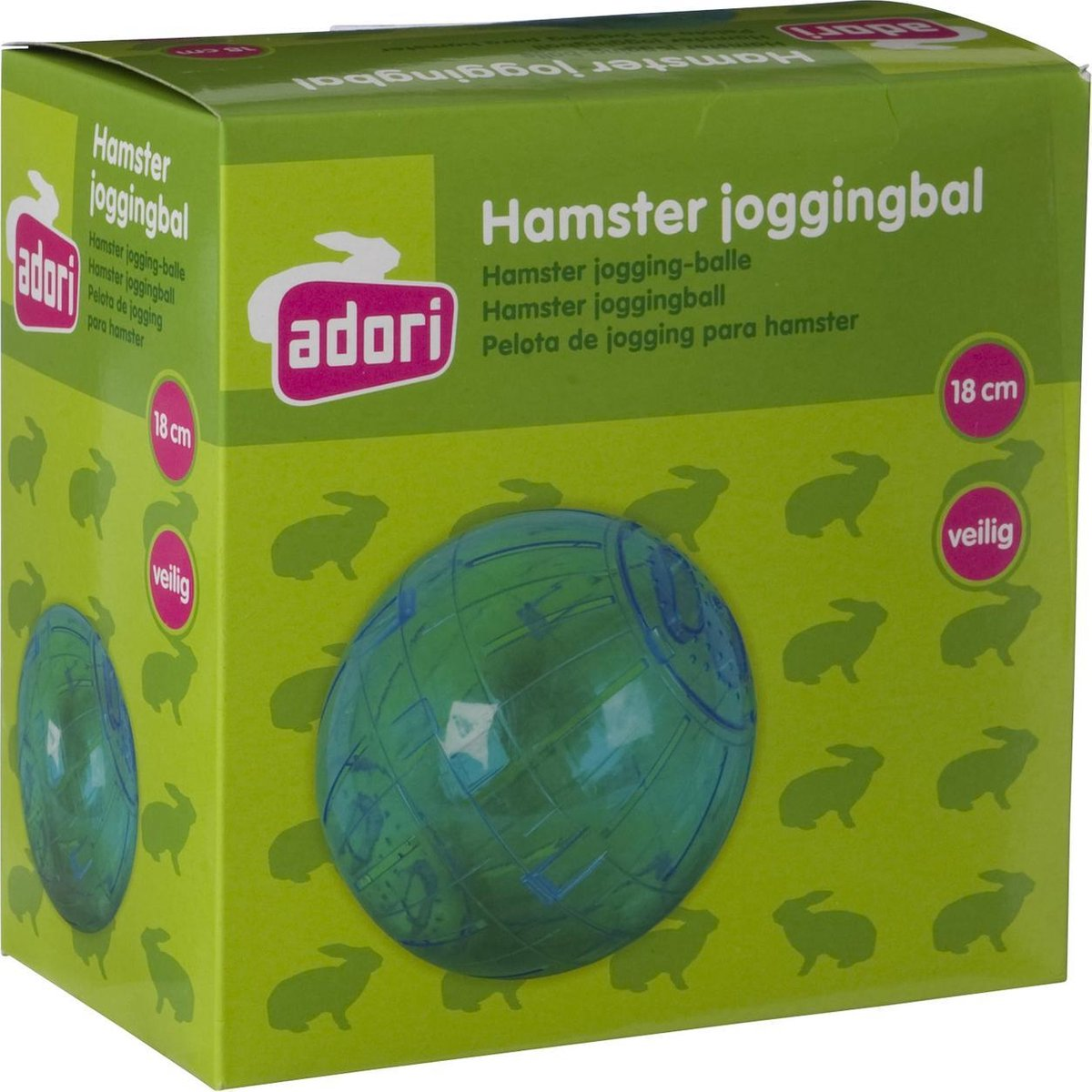 Adori Plastic Joggingbal Hamster - Adori