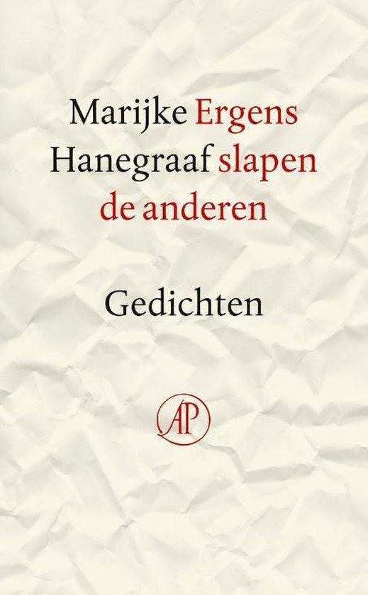 Ergens slapen de anderen - Marijke Hanegraaf |