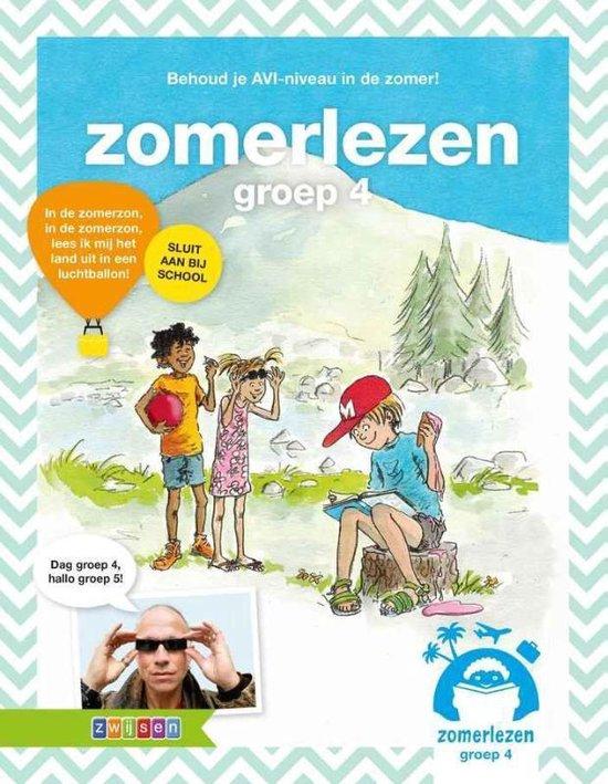 Boek cover Zomerlezen Groep 4 van Paul van Loon (Paperback)