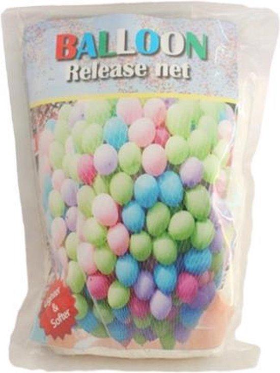 Ballon net in verschillende grote - Dropnet 500 pcs (9 inch)