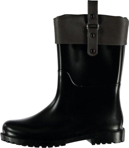 Regenlaarzen met hoge schacht zwart | Regenlaarzen dames