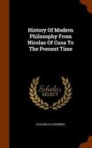 History of Modern Philosophy