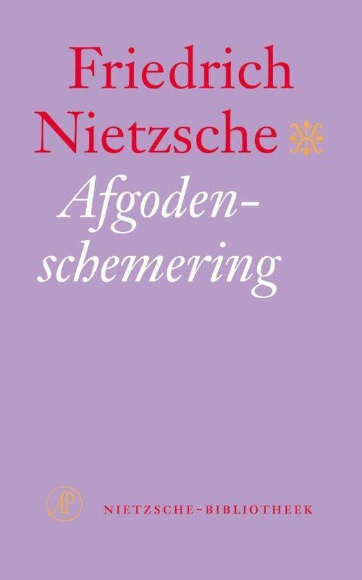 Boek cover Afgodenschemering van Friedrich Nietzsche
