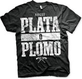 Narcos Plata O Plomo t-shirt heren S