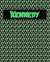 120 Page Handwriting Practice Book with Green Alien Cover Kennedy