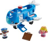 Fisher-Price Little People Samen Op Reis Vliegtuig - Speelfigurenset