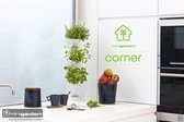 Minigarden Corner verticale tuin - Wit