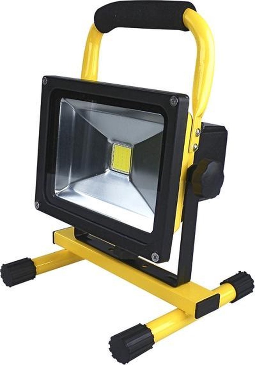 Accu Led floodlight / schijnwerper 30 Watt Daglicht - Fifty Lighting