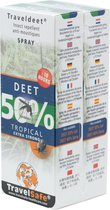 Travelsafe DEET 50% - 2-Pack - Spray 60ml