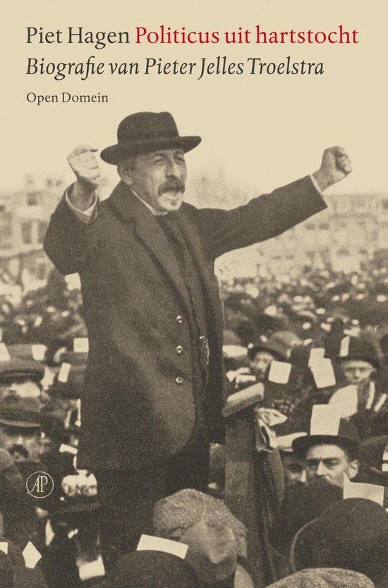 Boek cover Politicus uit hartstocht van Piet Hagen (Onbekend)