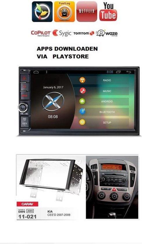 JVC bluetooth mp3 cd USB AUX autoradio pour KIA CEED 2007-2009