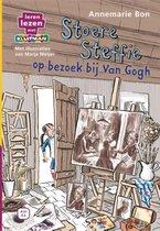 Leren lezen met Kluitman - Stoere Steffie 2: Stoere Steffie op bezoek bij van Gogh