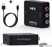 HDMI naar Tulp AV converter van SDE-Commerce - HDMI2AV converter - HDMI naar RCA adapter - composiet audio/video adapter