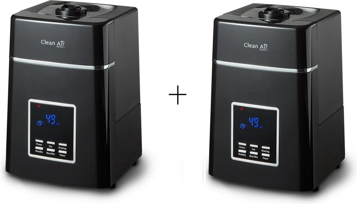 Clean Air Optima® 2 stuks CA-604B – Luchtbevochtiger met Ionisator