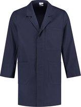 EM Workwear Stofjas 100% katoen - Navy - maat M / 48-50