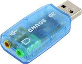 Externe USB Geluidskaart Adapter 51 CH - Sound Card / Audio Kaart Dongle - PC & Mac