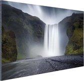 Waterval Aluminium 30x20 cm - klein - Foto print op Aluminium (metaal wanddecoratie)