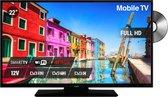 Nikkei Mobile TV 22 inch (56cm) FULL HD - DVD - SMART - Satelliet TV - 12 Volt aansluiting