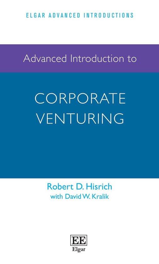 Afbeelding van Advanced Introduction to Corporate Venturing
